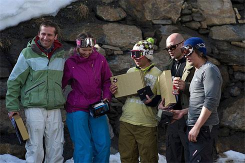 Freeride kup - snowboard pobjednici